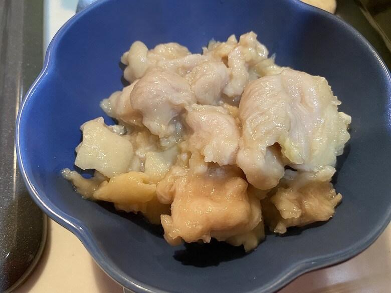 「コープデリミールキット金沢郷土料理 鶏肉とたけのこの治部煮」作り方⑤