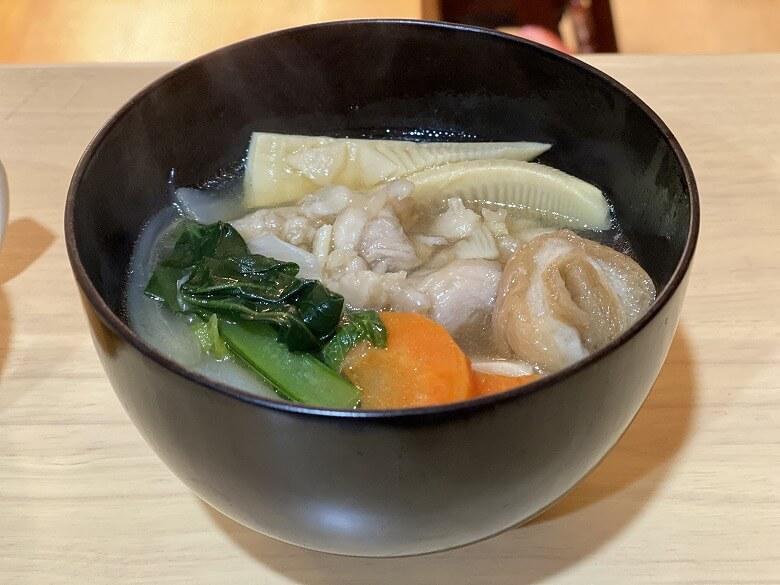 「コープデリミールキット金沢郷土料理 鶏肉とたけのこの治部煮」作り方⑩