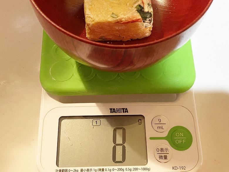 コープデリ「たまごスープ 10食入」 レビュー 中身の重さ