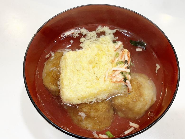 コープデリ「たこ焼50個入(1kg)」レビュー アレンジ 明石焼き風たまごスープ 作り方④