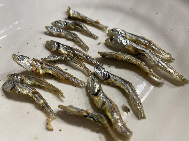 コープデリ「ぽりぽり小魚4.5g × 15袋」レビュー かたくちいわし