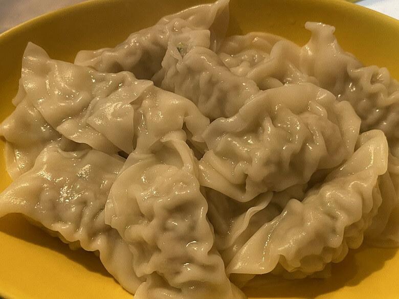 コープデリ「香港ギョーザ」水餃子