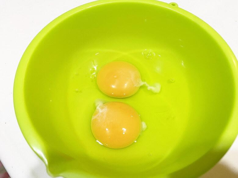 コープデリ「たこ焼50個入(1kg)」レビュー アレンジ たこ焼きDEたまご焼き 作り方③