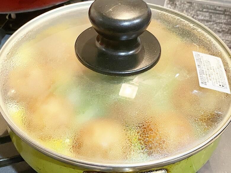 コープデリ「たこ焼50個入(1kg)」レビュー アレンジ たこ焼きDEたまご焼き 作り方⑨